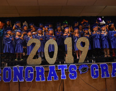 Cover photo of the Kindergarten Graduation 2019 album