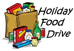 Holiday Food Drive Starts Tomorrow!