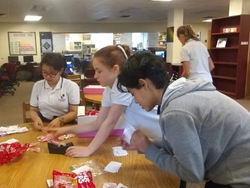 NJHS Earning Hours with Candy Grams